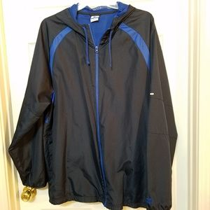 Starter Jacket Windbreaker Zip Up Hoodie Mens 3XL